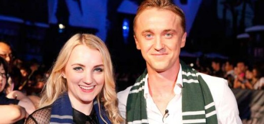 Harry Potter BlogHogwarts Inauguracion Parque Japon Tom Felton Evanna Lynch (1)