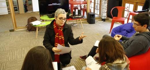Actividad sobre Harry Potter en Campus Oriente Chile