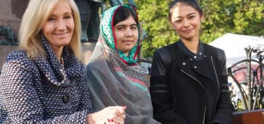 JK Rowling y Malala