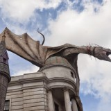 Dragon Parque Tematico Harry Potter