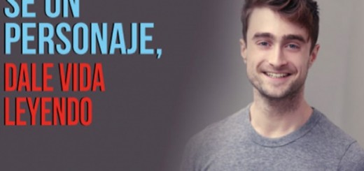 Harry Potter BlogHogwarts Campana Lectura Daniel Radcliffe 2