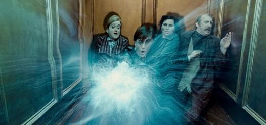 ascensor ministerio de magia