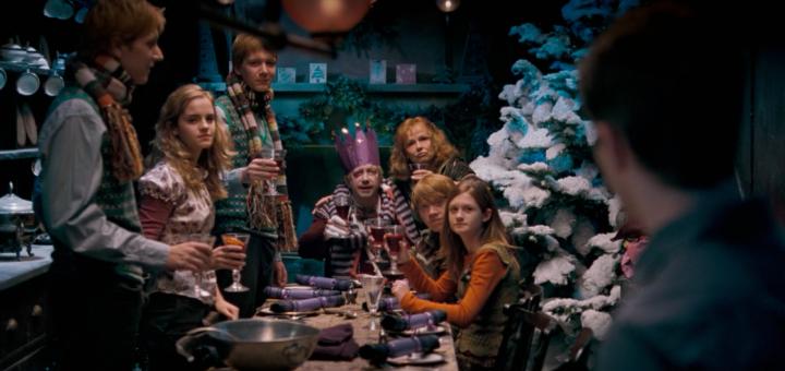 Navidad con los Weasley