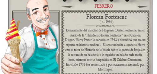 Mago Mes febrero Florean Fortescue