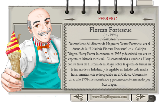 Mago Mes febrero Florean Fortescue