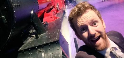 Harry Potter BlogHogwarts Chris Rankin Expreso de Hogwarts Tour Londres