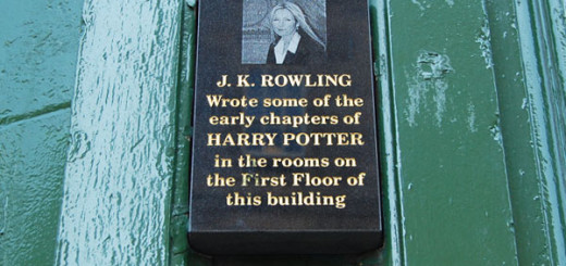 Harry Potter BlogHogwarts JK Rowling Edimburgo 1