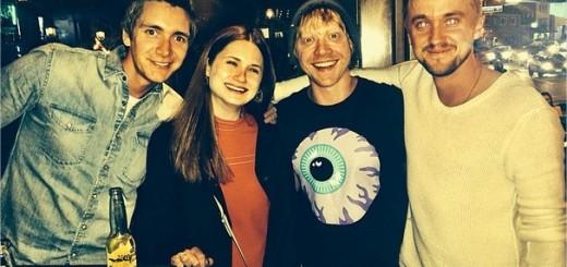 Harry Potter BlogHogwarts Tom Felton Weasleys Instagram