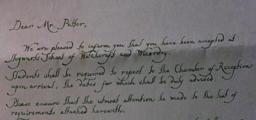 hogwarts carta