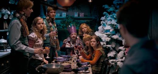 navidad weasley granger